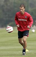 Fotball<br /> Frankrike 2005/2006<br /> Foto: Dppi/Digitalsport<br /> NORWAY ONLY<br /> <br /> PARIS SG TRAINING<br /> <br /> 09/07/2005<br /> <br /> DAVID ROZEHNAL (PSG)