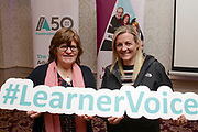 Attending The National FET Learner Forum Regional Meeting in the Abbey Hotel, Roscommon on Wednesday were Mary Barron and Donna Raftery Castlerea.  Photo:- XPOSURE.IE