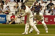 Lord's London, 1st NPower Test   England v New Zealand.  New Zealand skipper,  Stephen Fleming. 20/05/2004 <br /> [Credit Peter Spurrier Intersport Images}