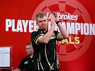 Steve Burton during the 2018 Players Championship Finals at Butlins Minehead, Minehead, United Kingdom on 24 November 2018.