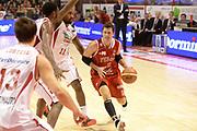 DESCRIZIONE : Pistoia Lega serie A 2013/14 Giorgio Tesi Group Pistoia Victoria Libertas Pesaro<br /> GIOCATORE : Pecile Andrea <br /> CATEGORIA : palleggio<br /> SQUADRA : Victoria Libertas Pesaro <br /> EVENTO : Campionato Lega Serie A 2013-2014<br /> GARA : Giorgio Tesi Group Pistoia Victoria Libertas Pesaro<br /> DATA : 24/11/2013<br /> SPORT : Pallacanestro<br /> AUTORE : Agenzia Ciamillo-Castoria/GiulioCiamillo<br /> Galleria : Lega Seria A 2013-2014<br /> Fotonotizia : Pistoia Lega serie A 2013/14 Giorgio Tesi Group Pistoia Victoria Libertas Pesaro<br /> Predefinita :