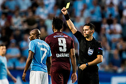 August 1, 2018 - MalmÅ, SVERIGE - 180801 Referee Andrew Dallas during the UEFA Champions League qualifying match between MalmÅ¡ FF and Cluj on August 1, 2018 in MalmÅ¡..Photo: Mathilda Ahlberg / BILDBYRN / Cop 178  (Credit Image: © Mathilda Ahlberg/Bildbyran via ZUMA Press)