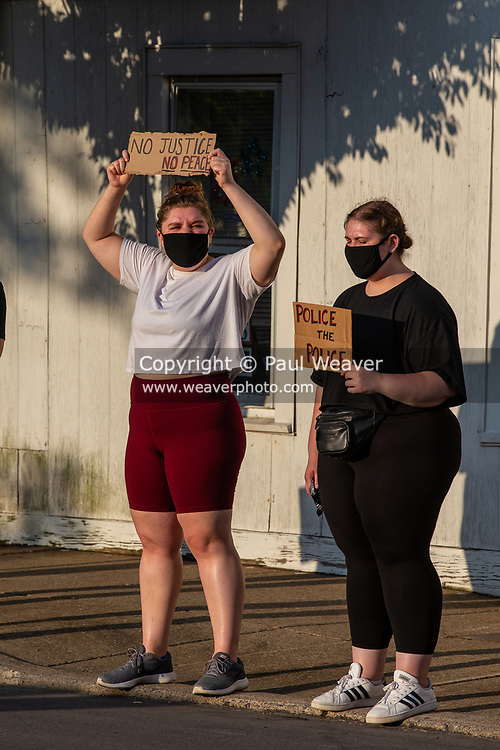 Selinsgrove, PA (June 20, 2020) -- Central PA Protests and If Not Us, Then Who? hosted a protest at Sharon Lutheran Church to demand police reform and  to honor the lives lost to police violence.