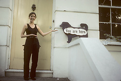 October 15, 2009 - London, United Kingdom, U.S. - Carrie Fisher's place in England she stayed at while practicing shooting at a firing range for her role as Princess Leia in Star Wars. (Credit Image: © Lynn Goldsmith via ZUMA Press)