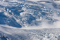 Upper reaches of the Coleman Glacier on Mount Baker (elevation 10,778feet (3,285m). Mount Baker Wilderness Washington USA