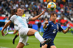 Ichise during the FIFA Women's World Cup group D first round soccer match between Argentina and Japan at Parc des Princes Stadium in Paris, France on June 10, 2019. The FIFA Women's World Cup France 2019 will take place in France from 7 June until 7 July 2019. Photo by Christian Liewig/ABACAPRESS.COM