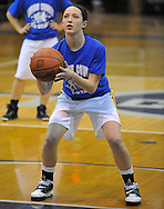 The Blue Team defeated the Green squad 66-61 in a Lorain County Girls Basketball All-Star Game at Lorain High on March 22, 2011 at Lorain High School.