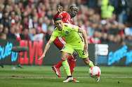 Brighton striker, Anthony Knockaert (27)  during the Sky Bet Championship match between Middlesbrough and Brighton and Hove Albion at the Riverside Stadium, Middlesbrough, England on 7 May 2016. Photo by Simon Davies.