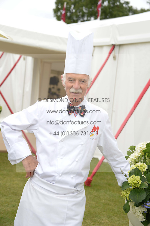 Chef ANTON MOSIMANN at the 2013 Cartier Queens Cup Polo at Guards Polo Club, Berkshire on 16th June 2013.