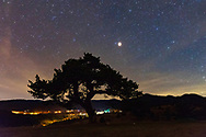 Sky full of stars in Rhodope Mountain