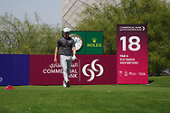 Connor Syme (SCO) on the 18th during Round 1 of the Commercial Bank Qatar Masters 2020 at the Education City Golf Club, Doha, Qatar . 05/03/2020<br /> Picture: Golffile   Thos Caffrey<br /> <br /> <br /> All photo usage must carry mandatory copyright credit (© Golffile   Thos Caffrey)