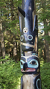 Sitka National Historic Park/Totem Park, Sitka, Alaska, USA