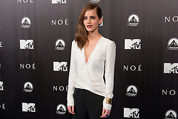 """English actress Emma Watson poses for the photographers during the Spanish premiere for the movie """"Noah"""" in Madrid, Spain, Monday, 17th March 2014. Picture by Oscar Gonzalez / i-Images<br /> SPAIN OUT"""