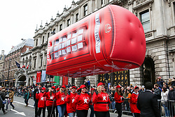 © Licensed to London News Pictures. 01/01/2019. London, UK. Performers take part in the annual New Year's Day Parade in London. Over half a million spectators line the 2.2 mile route from Piccadilly Circus to Parliament Square as more than 8,000 performers from 26 countries participates in 33rd London's New Year's Day Parade. Photo credit: Dinendra Haria/LNP
