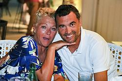 July 22, 2017 - France - Sergi Bruguera et la femme de Mansour Barhami (Credit Image: © Panoramic via ZUMA Press)
