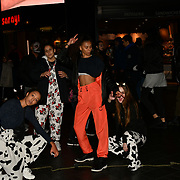 Revellers dresses up in Halloween Costume for a night in Westend for the Halloween party on 31 October 2018, London, UK.