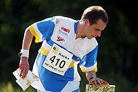 Orientering, 21. juni 2002. NM sprint. Daniel Marston, Bækkelaget.