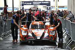 June 11, 2018 - Le Mans, FRANCE - 40 G DRIVE RACING  (RUS) ORECA 07 GIBSON JAMES ALLEN (AUS) JOSE GUTIERREZ (MEX) ENZO GUIBBERT  (Credit Image: © Panoramic via ZUMA Press)