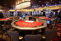 Launch of Royal Caribbean International's newest ship Allure of the Seas..Casino Royal.