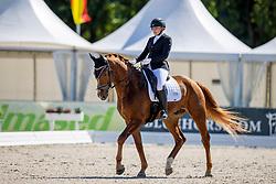 Alalauri Hanna-Malja, FIN, Sanccione<br /> World Championship Young Horses Verden 2021<br /> © Hippo Foto - Dirk Caremans<br /> 26/08/2021