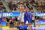 TRENTO, 26/07/2012<br /> TRENTINO BASKET CUP 2012<br /> ITALIA - BOSNIA ED ERZEGOVINA<br /> NELLA FOTO: ANGELO GIGLI<br /> FOTO CIAMILLO