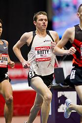 New Balance Indoor Grand Prix track meet: Men's 3000 meter, Miles Batty
