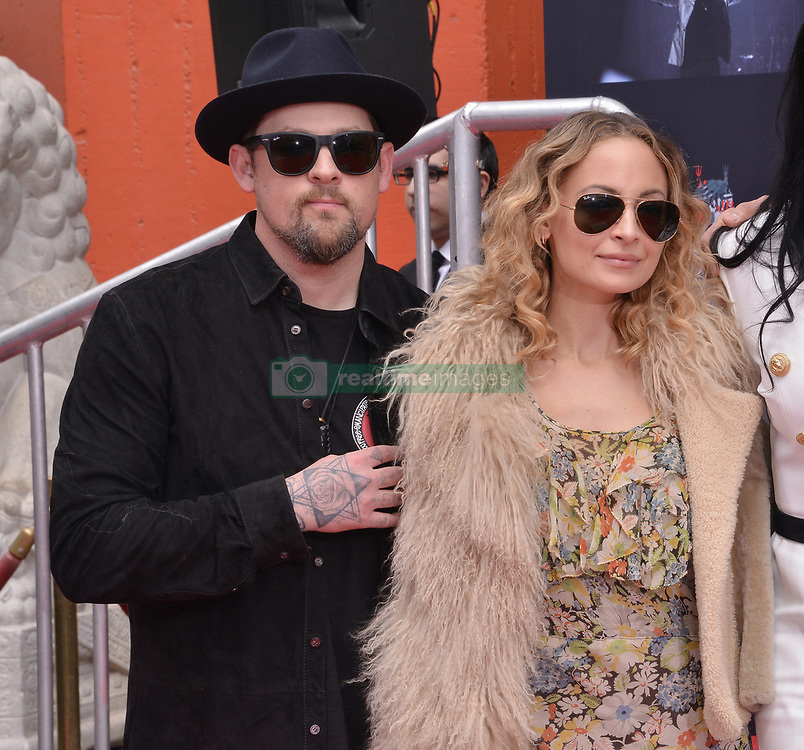 Joel Madden and Nicole Richie at her Dad's Lionel Richie Hand and Footprint Ceremony held at the TCL Chinese Theatre in Hollywood, CA  on Wednesday, March 7, 2018. (Photo By Sthanlee B. Mirador/Sipa USA)
