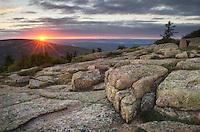 Cadillac Mountain Sunset Maine