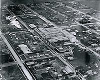 1921 Aerial of Metro Studios in Hollywood