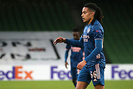 Miguel Azeez of Arsenal during the Europa League Group B match between Dundalk and Arsenal at Aviva Stadium, Dublin, Republic of Ireland on 10 December 2020.