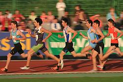 Peter Vitez, Aljaz Pozes (82), Benjamin Mirnik (69), Peter Navodnik (70) and Robert Zivko (73) at 4th Memorial of Matic Sustersic and Patrik Cvetan athletic meeting of Grand Prix Vzajemna, on June 1, 2009, in ZAK, Ljubljana, Slovenia. (Photo by Vid Ponikvar / Sportida)