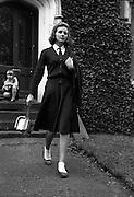 03/11/1960<br /> 11/03/1960<br /> 03 November 1960 <br /> Suzanne Macdougald (15) part time model, Glenville, Dundrum, Dublin.