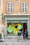 La Route Des Vins wine shop in rue Musette in Dijon in the Burgundy region of France