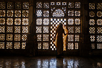 Inde, Etat de Gujarat, Ahmedabad, classé Patrimoine Mondial de l'UNESCO, mausolée de Sarkhej Roza // India, Gujarat, Ahmedabad, Unesco World Heritage city, Sarkhej Roza mausoleum