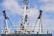 Nederland, Urk, 9-5-2017Balk Shipyard, werf voor ombouw en onderhoud aan grote jachten en kleine vissersschepen.Foto: Flip Franssen