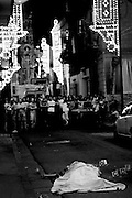 A man killed by the camorra during a religious procession
