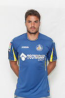 Pedro Leon poses during official La Liga 2015-16 photo session in Madrid, Spain. July 24, 2015. (ALTERPHOTOS/Victor Blanco)