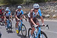 Clement CHEVRIER (FRA), Francois BIDARD(FRA), Domenico POZZOVIVO (ITA), during the 100th Tour of Italy 2017, Giro d'Italia, Stage 1, Alghero - Olbia (206km), on May 5, in Sardegna, Italy - Photo Tim De Waele / ProSportsImages / DPPI