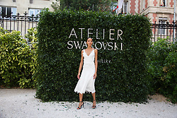Noemi Lenoir attends the Atelier Swarovski - Cocktail Of The New Penelope Cruz Fine Jewelry Collection during Paris Haute Couture Fall Winter 2018/2019 in Paris, France on July 02, 2018. Photo by Nasser Berzane/ABACAPRESS.COM