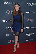TRACE LYSETTE at the premiere of Amazon's 'Transparent' season two at the Pacific Design Center in Los Angeles, California