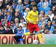 Watford Fernando Forestieri during the Sky Bet Championship match between Brighton and Hove Albion and Watford at the American Express Community Stadium, Brighton and Hove, England on 25 April 2015. Photo by Phil Duncan.