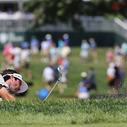 Bubba Watson, USA, in action during The Barclays Golf Tournament at The Plainfield Country Club, Edison, New Jersey, USA. 27th August 2015. Photo Tim Clayton