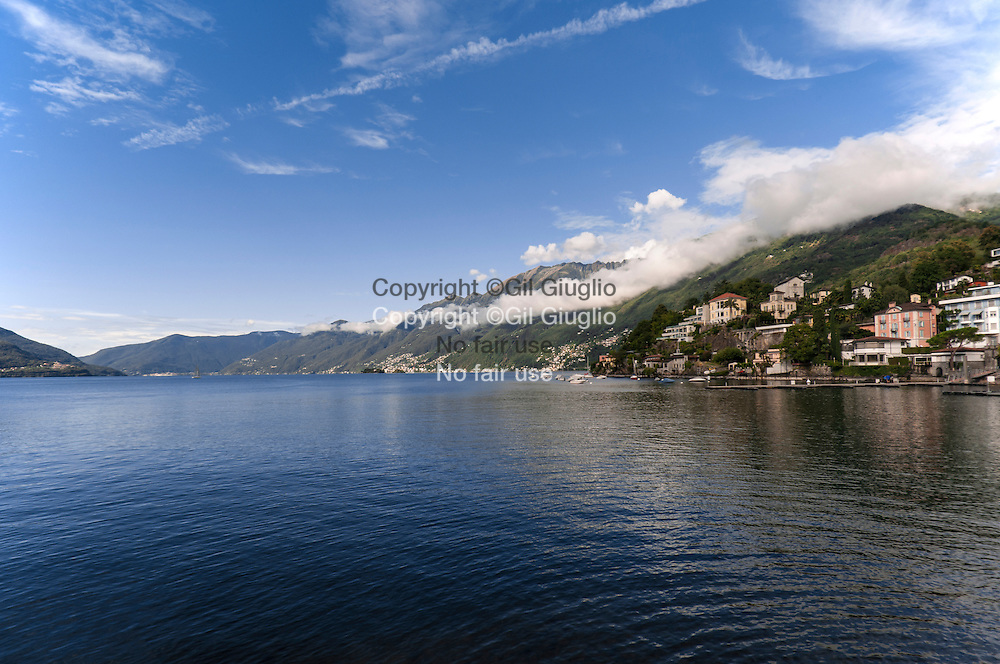 Suisse, canton du Tessin, ville d'Ascona// Switzerland, Ticino canton, Ascona city