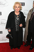 """December 6, 2012- New York, NY: Actress Doris Roberts attends the ' Keep A Child Alive Black Ball """" Redux """" 2012 ' held at the Apollo Theater on December 6, 2012 in Harlem, New York City. The Benefit pays homage to Oprah Winfrey, Angelique Kidjo for their philanthropic contributions in Africa and worldwide and celebrates the power of women and the promise of an AIDS-free Africa. (Terrence Jennings)"""