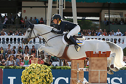 Offel Katharina (UKR) - Charlie<br /> Furusiyya FEI Nations Cup Jumping Final <br /> CSIO Barcelona 2013<br /> © Dirk Caremans