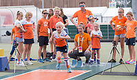 AMSTELVEEN - EK Hockey 2017 Hardlopen, Atletiekunie bij EK hockey COPYRIGHT KOEN SUYK