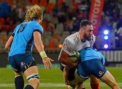 Charles Marais of the Free State Cheetahs during the Currie Cup 1st division match between the The Free State Cheetahs and the Blue Bulls held at Toyota Stadium (Free State Stadium), Bloemfontein, South Africa on the 13th August 2016<br /> <br /> Photo by:   Frikkie Kapp / Real Time Images