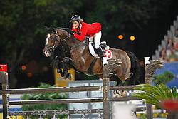 Liebherr Christina (SUI) - L.B. No Mercy<br /> Olympic Games Hong Kong 2008<br /> Photo © Dirk Caremans - Hippo Foto