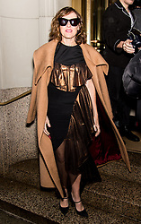 Celebrities arrive to the Christian Siriano fashion show during New York Fashion Week at Grand Lodge in New York. 10 Feb 2018 Pictured: Molly Shannon. Photo credit: MEGA TheMegaAgency.com +1 888 505 6342