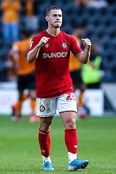 Tommy Rowe of Bristol City celebrates victory over Hull City - Mandatory by-line: Robbie Stephenson/JMP - 24/08/2019 - FOOTBALL - KCOM Stadium - Hull, England - Hull City v Bristol City - Sky Bet Championship